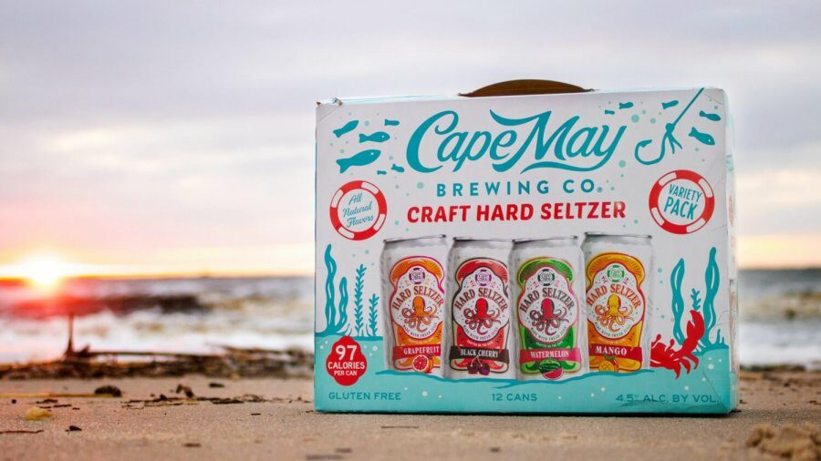 Cape May Brewing Company Announces Release of Cape May Hard Seltzer